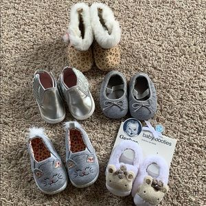 Bundle of 5 Pair Baby Shoes